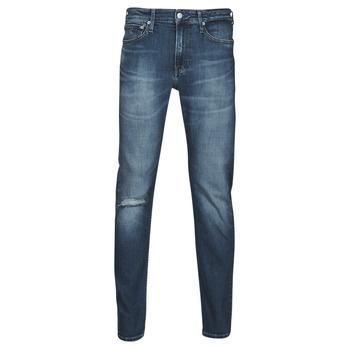 textil Herr Raka byxor Calvin Klein Jeans SLIM TAPER Blå