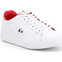 Skor Herr Sneakers Lacoste Carnaby Evo 317 3 SPM 7-34SPM0003042 white