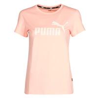 textil Dam T-shirts Puma ESS Logo Tee (s) Aprikos