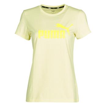textil Dam T-shirts Puma ESS Logo Tee (s) Gul