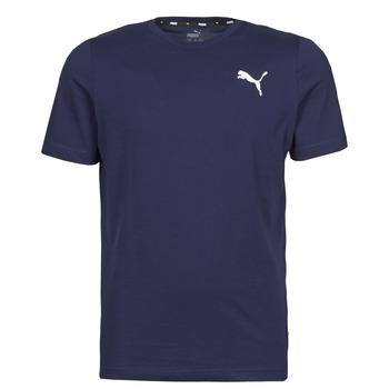 textil Herr T-shirts Puma ESS TEE Marin
