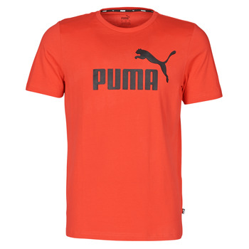 textil Herr T-shirts Puma ESSENTIAL TEE Röd