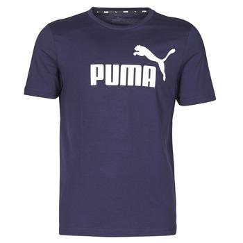 textil Herr T-shirts Puma ESSENTIAL TEE Marin