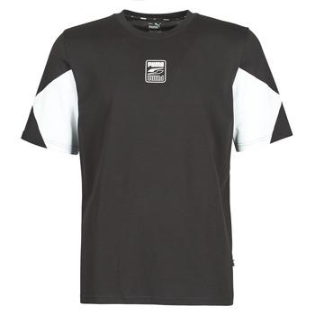 textil Herr T-shirts Puma REBEL ADVANCED TEE Svart