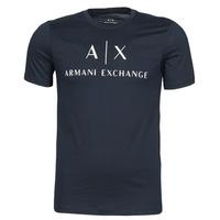 textil Herr T-shirts Armani Exchange 8NZTCJ-Z8H4Z Marin