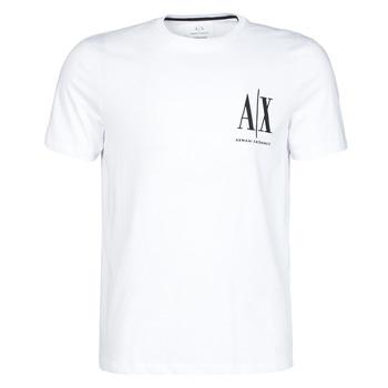 textil Herr T-shirts Armani Exchange 8NZTPH-ZJH4Z Vit