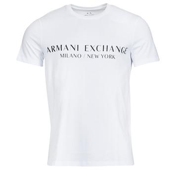textil Herr T-shirts Armani Exchange 8NZT72-Z8H4Z Vit