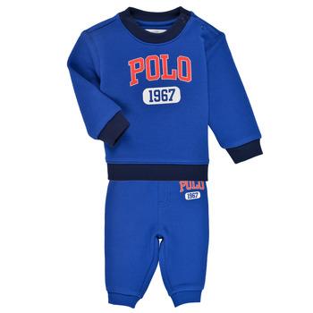 textil Pojkar Set Polo Ralph Lauren NOELLE Blå