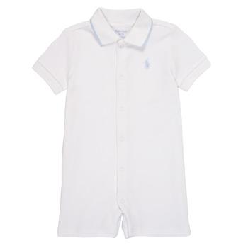 textil Pojkar Uniform Polo Ralph Lauren TONNY Vit