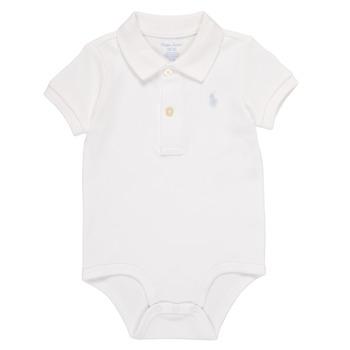 textil Pojkar Pyjamas/nattlinne Polo Ralph Lauren NOUVEL Vit
