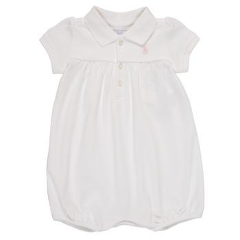 textil Flickor Uniform Polo Ralph Lauren SIMONE Vit