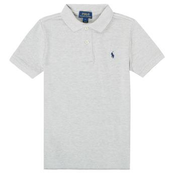 textil Pojkar Kortärmade pikétröjor Polo Ralph Lauren MENCHI Grå