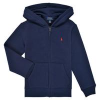 textil Pojkar Sweatshirts Polo Ralph Lauren SIDOINE Marin
