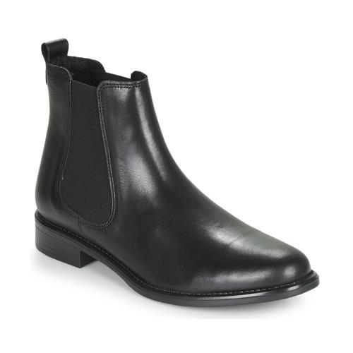 Skor Dam Boots Betty London NORA Svart