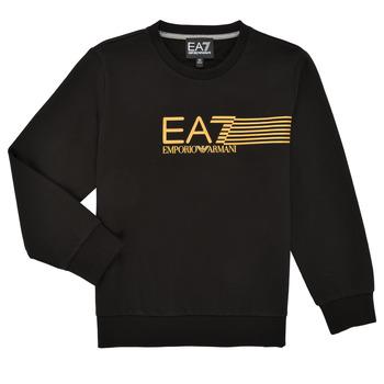 textil Pojkar Sweatshirts Emporio Armani EA7 3KBM55-BJ05Z-1200 Svart