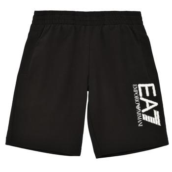 textil Pojkar Shorts / Bermudas Emporio Armani EA7 3KBS52-BJ05Z-1200 Svart