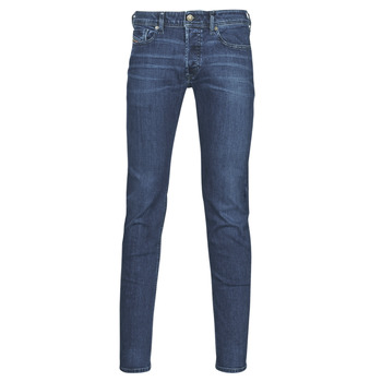 textil Herr Skinny Jeans Diesel SLEENKER Blå / Mörk