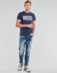 textil Herr Raka byxor Diesel D-FINNING Blå