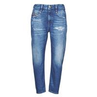 textil Dam Jeans boyfriend Diesel D-FAYZA Blå