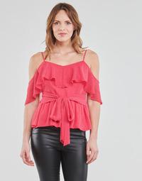 textil Dam Blusar Guess SL PAULINA TOP Rosa