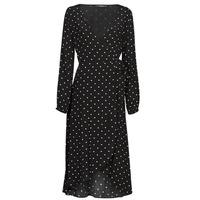 textil Dam Långklänningar Guess NEW BAJA DRESS Svart