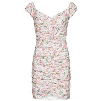 textil Dam Korta klänningar Guess INGRID DRESS Rosa / Ljus