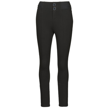 textil Dam Leggings Guess SEBASTIANA LEGGINGS Svart