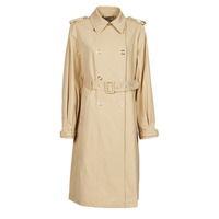 textil Dam Trenchcoats Guess PEGGY TRENCH Beige
