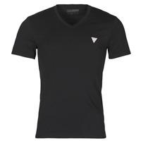 textil Herr T-shirts Guess VN SS CORE TEE Svart