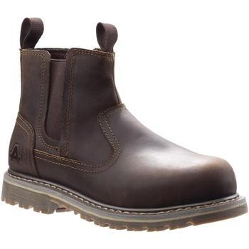 Skor Dam safety shoes Amblers Safety  Brun
