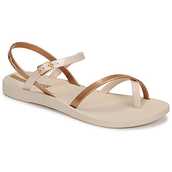 Skor Dam Sandaler Ipanema Ipanema Fashion Sandal VIII Fem Beige / Guldfärgad