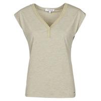 textil Dam T-shirts Morgan DMAYA Beige