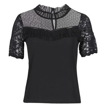 textil Dam T-shirts Morgan DANY Svart