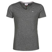 textil Herr T-shirts Tommy Jeans TJM SLIM JASPE V NECK Svart