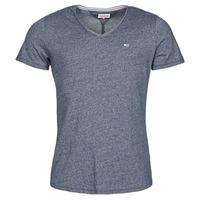 textil Herr T-shirts Tommy Jeans TJM SLIM JASPE V NECK Marin