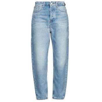 textil Dam Jeans boyfriend Tommy Jeans MOM JEAN ULTRA HR TPRD EMF SPLBR Blå / Ljus