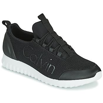 Skor Herr Sneakers Calvin Klein Jeans RUNNER SNEAKER LACEUP MESH Svart