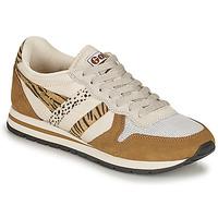 Skor Dam Sneakers Gola DAYTONA SAFARI Zebra / Kamel