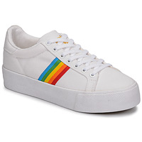 Skor Dam Sneakers Gola ORCHID PLATEFORM RAINBOW Vit / Flerfärgad