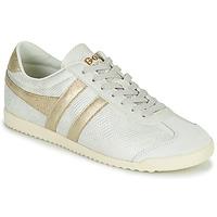 Skor Dam Sneakers Gola BULLET LIZARD Beige / Guldfärgad