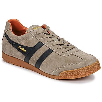 Skor Herr Sneakers Gola HARRIER Beige / Marin