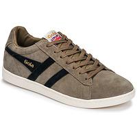 Skor Herr Sneakers Gola EQUIPE SUEDE Beige / Marin