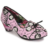 Skor Dam Pumps Irregular Choice ROCKTINA Rosa