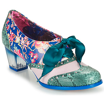 Skor Dam Pumps Irregular Choice CORPORATE BEAUTY Grön / Blå