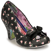 Skor Dam Pumps Irregular Choice TIED IN A BOW Svart