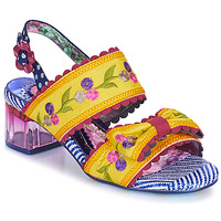 Skor Dam Sandaler Irregular Choice HERE COMES THE SUN Gul / Blå