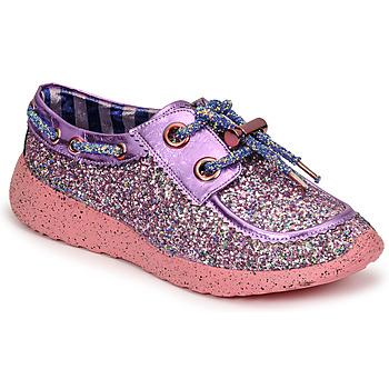 Skor Dam Sneakers Irregular Choice SKYLAR Violett