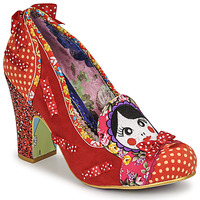 Skor Dam Pumps Irregular Choice MATRYOSHKA MEMORIES Röd