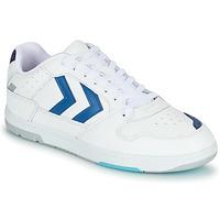 Skor Herr Sneakers Hummel POWER PLAY Vit / Blå