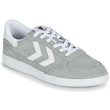 Skor Herr Sneakers Hummel VICTORY Grå